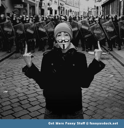 anonymous riot art funny pic picture lol