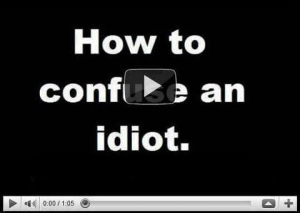 you tube video funny meme pic confuse an idiot picture lol