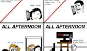 girls vs boys rage comic funny pic picture lol