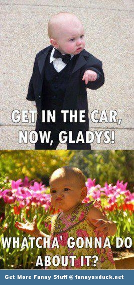 godfather baby funny pic picture lol meme