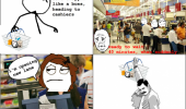 checkout rage comic funny pic picture meme lol