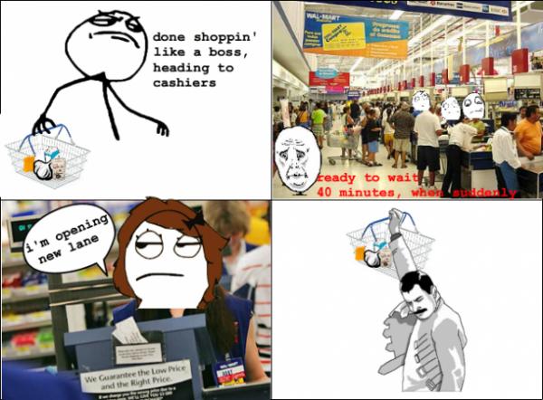 checkout rage comic funny pic picture meme lol