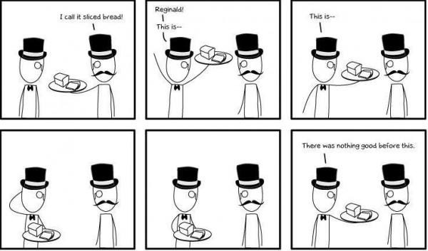 funny pic picture lol meme comic slice bread