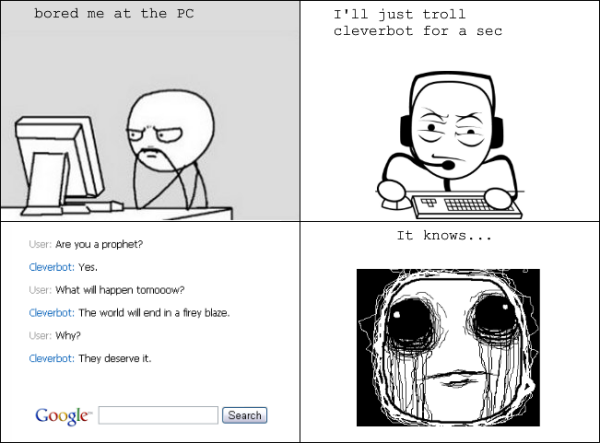 google cleverbot rage comic funny pics pictures pic picture image photo images photos lol meme