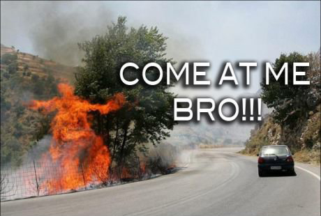 come at me bro meme fireman funny pic pictures lol