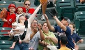 baseball baby catch funny pic picture lol