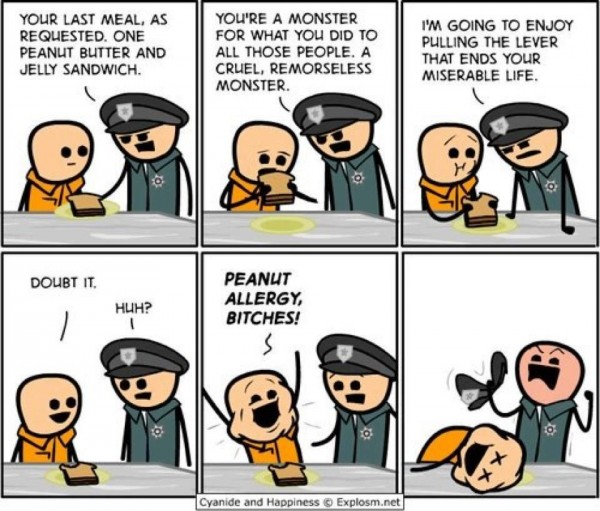 cyanide and happines meme funny pic picture lol
