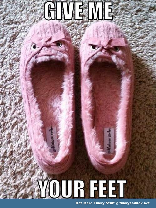 evil slippers meme memes funny pics pictures pic picture image photo images photos lol