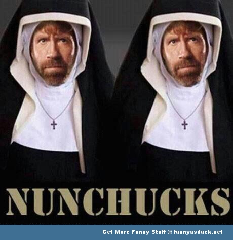 chuck norris nunchucks funny pics pictures pic picture image photo images photos lol