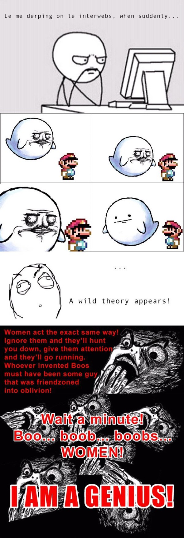 rage comic super mario girls funny pics pictures pic picture image photo images photos lol