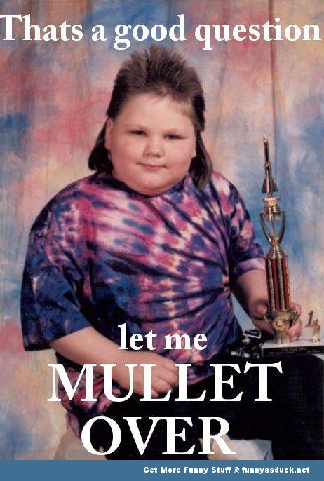 redneck kid mullet over funny pics pictures pic picture image photo images photos lol