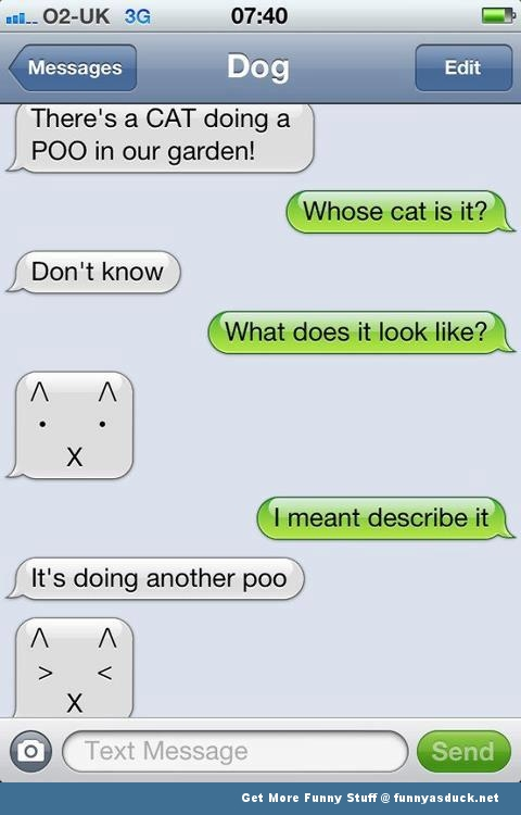 texts from dog iphone autocorrect fail apple sms funny pics pictures ...
