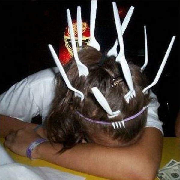 fork picnic drunk funny pics pictures pic picture image photo images photos lol