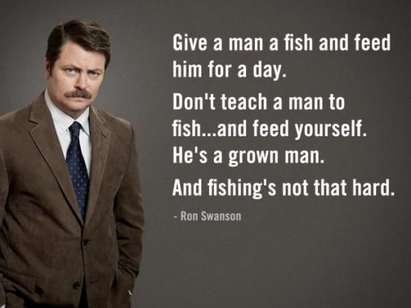 funny lol pic picture anchorman meme ron swanson