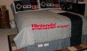 funny pic picture lol nintendo nes bed retro gaming