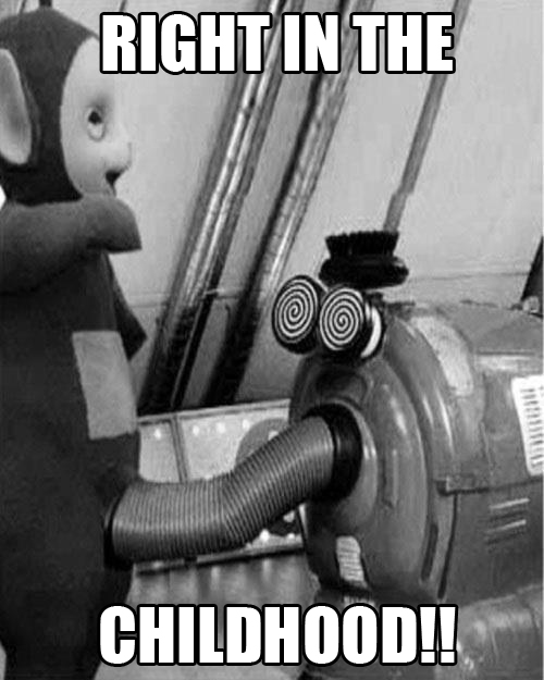 ruined childhood kids tv funny pic picture lol meme