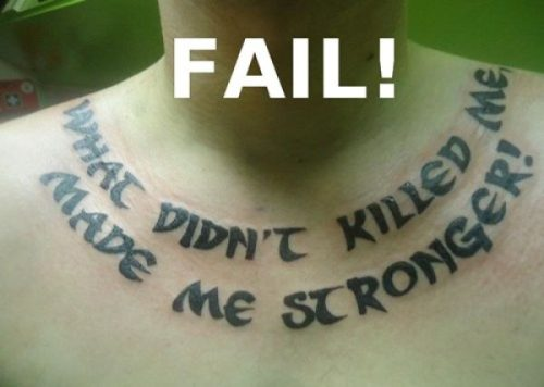 funny pic picture lol tattoo fail