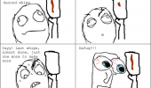 funny pics pictures pic picture image photo images photos lol  toilet paper rage comic meme