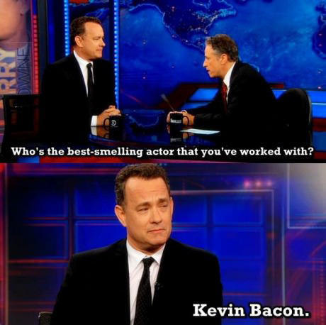 tom hanks kevin bacon tv funny pic pictures lol meme
