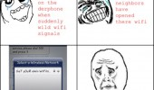 wi fi rage comic comics iphone apple funny pics pictures pic picture image photo images photos lol meme memes