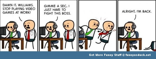 funny pic picture lol meme comic cyanide and happiness boss