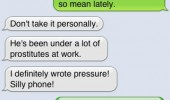 auto correct fail sms apple iphone text funny pics pictures pic picture image photo images photos lol