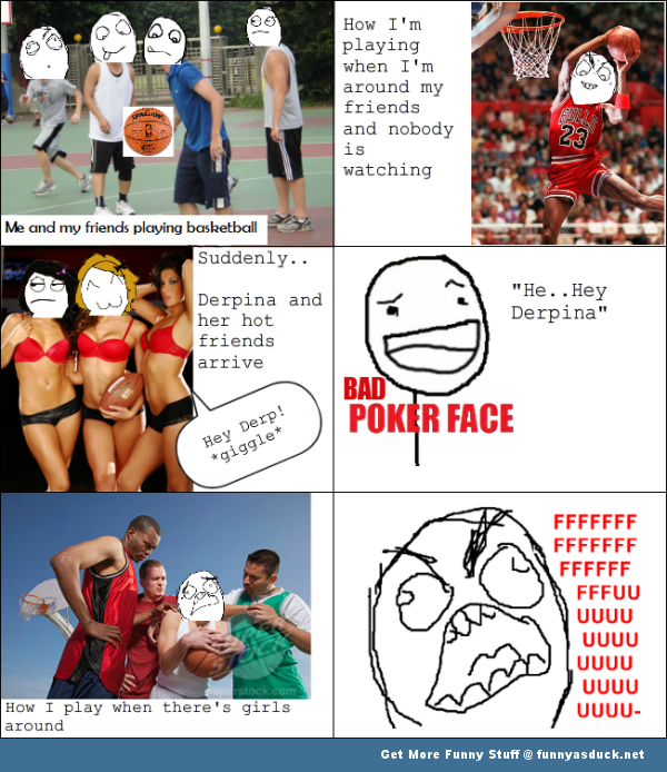 basketball rage comic funny pics pictures pic picture image photo images photos lol