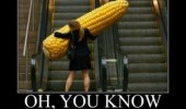 corn meme escalator funny pics pictures pic picture image photo images photos lol