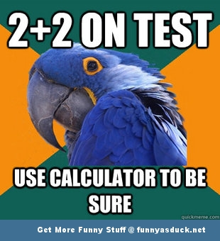 paranoid parrot meme maths test funny pics pictures pic picture image photo images photos lol