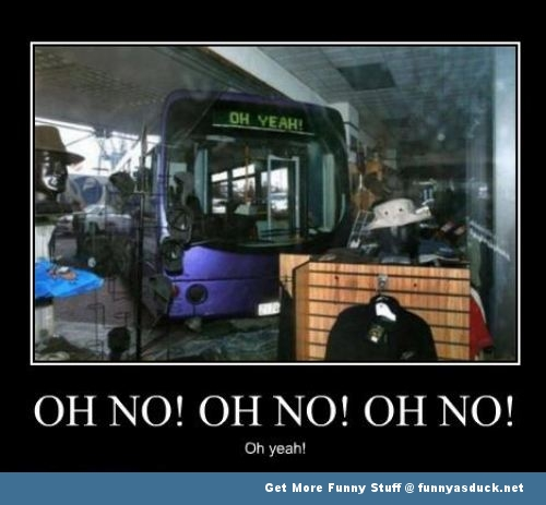 bus meme crash shop funny pics pictures pic picture image photo images photos lol