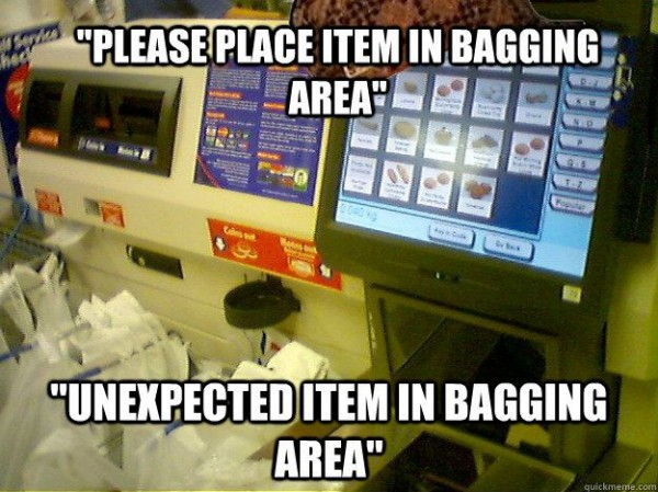 scumbag self service checkout super market funny pics pictures pic picture image photo images photos lol
