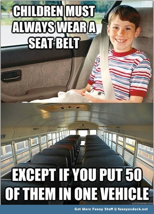 seatbelt kid meme bus kids funny pics pictures pic picture image photo images photos lol