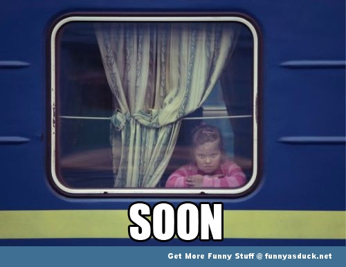 soon meme kid train girl  funny pics pictures pic picture image photo images photos lol