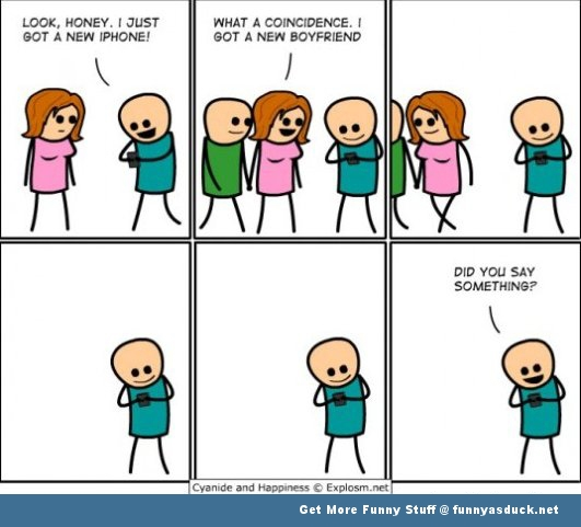 funny pic picture lol meme cyanide and happiness iPhone