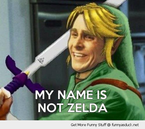 zelda link nintendo american psycho funny pics pictures pic picture image photo images photos lol