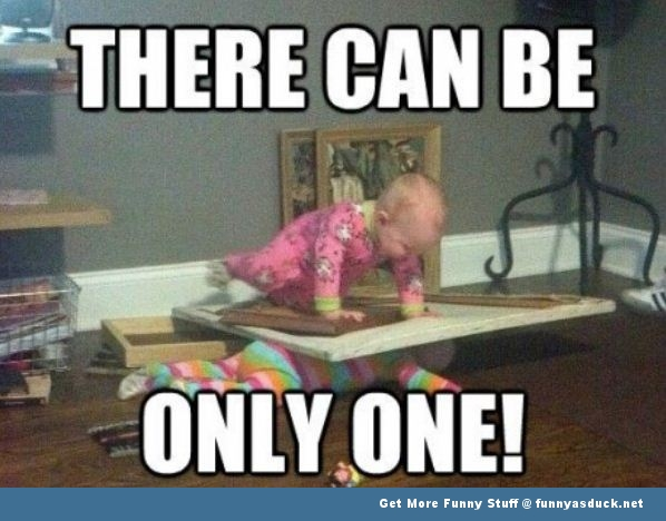 baby babies only one highlander funny pics pictures pic picture image photo images photos lol