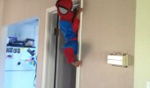 baby sit angel spider man kid boy funny pics pictures pic picture image photo images photos lol