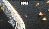 female boat feeding young sinking ship ocean funny pics pictures pic picture image photo images photos lol