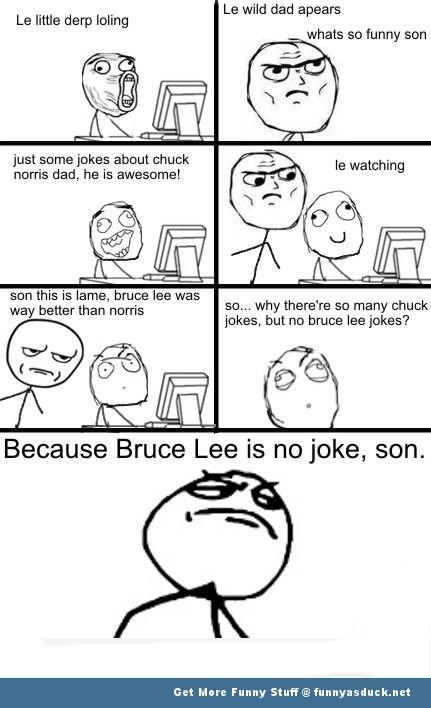 bruce lee chuck norris rage comic meme funny pics pictures pic picture image photo images photos lol