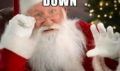 calm down october santa xmas christmas meme funny pics pictures pic picture image photo images photos lol