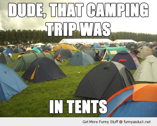 camping trip in tents pun funny pics pictures pic picture image photo images photos lol
