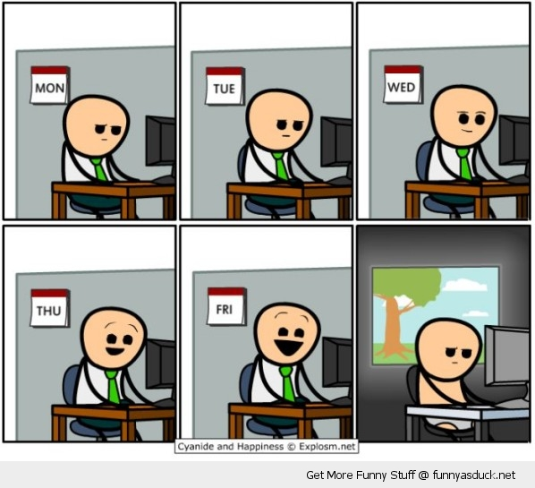 cyanide and happiness comic work pants funny pics pictures pic picture image photo images photos lol