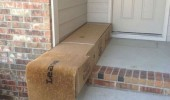 delivery camouflage door mat ups parcel funny pics pictures pic picture image photo images photos lol