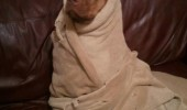 dog burrito towel animal funny pics pictures pic picture image photo images photos lol