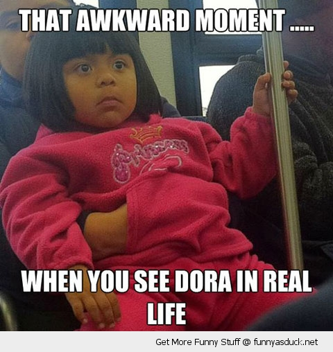dora explorer real life awkward funny pics pictures pic picture image photo images photos lol