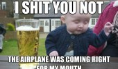drunk baby meme airplane funny pics pictures pic picture image photo images photos lol