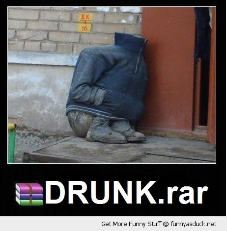 drunk.rar guy man jacket head internet funny pics pictures pic picture image photo images photos lol