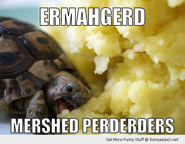 Ermahgerd Mashed Potatoes
