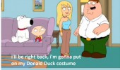 family guy peter tv scene Disney donald duck funny pics pictures pic picture image photo images photos lol