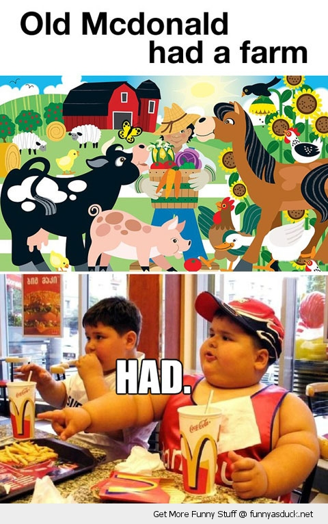 mcdonalds fat kid had farm funny pics pictures pic picture image photo images photos lol